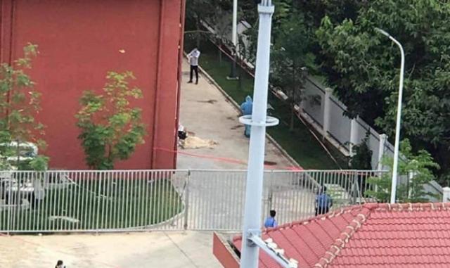 Nữ công nhân 52 tuổi rơi từ tầng 5 ký túc xá trong KCN tử vong
