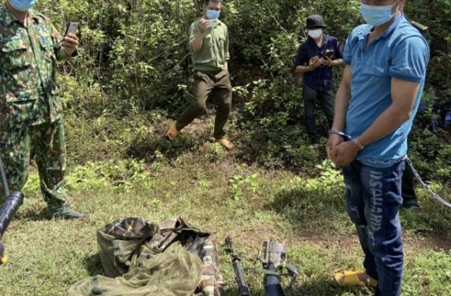 Đắk Nông: Tạm giam đối tượng vận chuyển vũ khí quân dụng trái phép