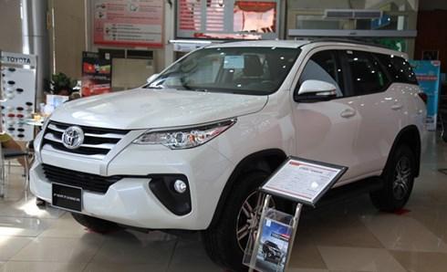 Giá xe ô tô Toyota cập nhật mới nhất tháng 7/2019