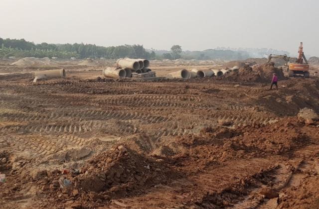 Hưng Yên: Xã Phụng Công bất chấp Luật Đê điều thi công dự án