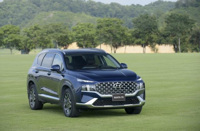 Ra mắt Hyundai Santa Fe 2021