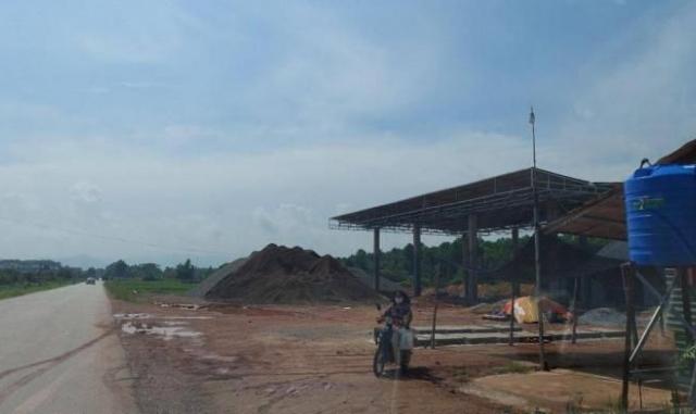 Doanh nghiệp Hưng Thịnh Bắc Giang xây dựng cây xăng không phép tại huyện Lục Nam
