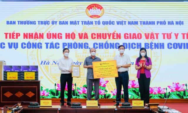 T&T Group tặng 1 triệu bộ Kit xét nghiệm PCR COVID-19 trị giá 162 tỷ đồng hỗ trợ TP Hà Nội chống dịch