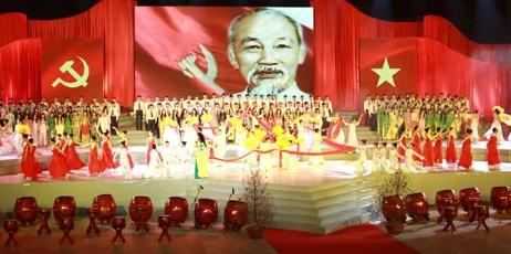 Tưng bừng các hoạt động văn hóa chào mừng Đại hội Đảng