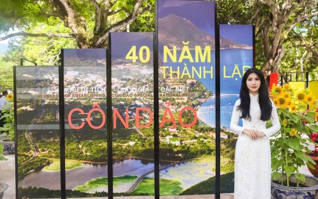 Loan Vương tham dự lễ kỷ niệm 40 năm Di tích quốc gia đặc biệt Côn Đảo