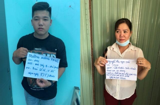 An Giang: Bắt quả tang 2 đối tượng bán số đề tại Thoại Sơn