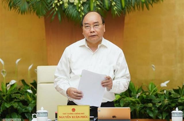 Thủ tướng Nguyễn Xuân Phúc phân công hoàn chỉnh một số dự án Luật