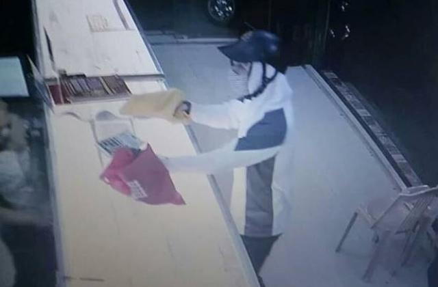 Nam Định: Truy tìm thanh niên nghi dùng súng cướp tiệm vàng