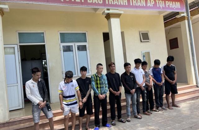 Thanh Hoá: Bắt giữ nhóm thanh niên tàng trữ, sử dụng trái phép chất ma túy tại khu nhà trọ
