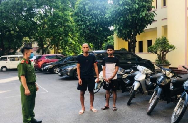 Lạng Sơn: Bắt giữ 2 đối tượng thực hiện 11 vụ trộm cắp xe mô tô