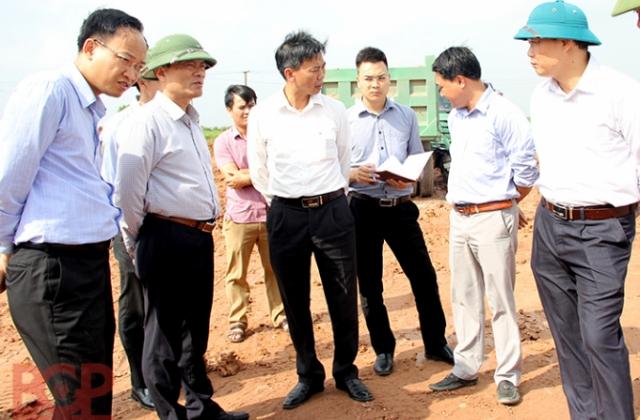 Bắc Giang: Đẩy mạnh tiến độ thực hiện dự án đường vành đai IV