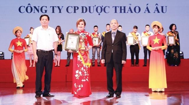 """Công ty CP Dược Thảo Á Âu: """"Rạng danh thuốc Việt"""""""