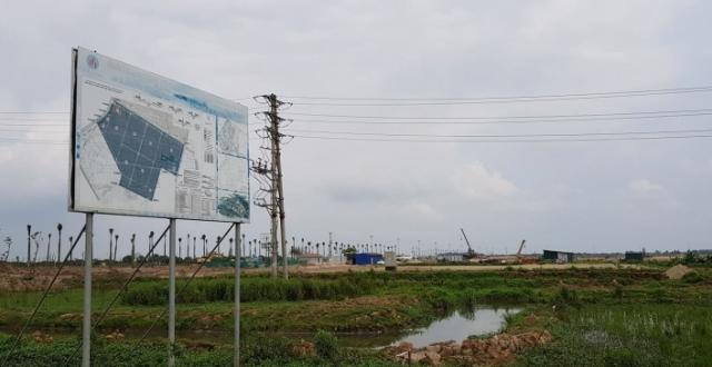Hưng Yên: Xử phạt 3 doanh nghiệp san lấp đất trồng lúa trái phép