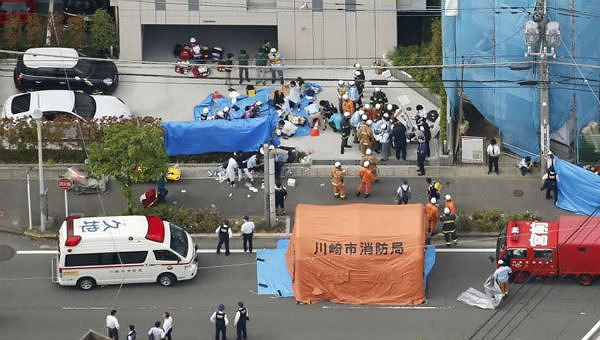 Tấn công bằng dao ở Nhật Bản, 1 nữ sinh tiểu học tử vong, 17 người bị thương
