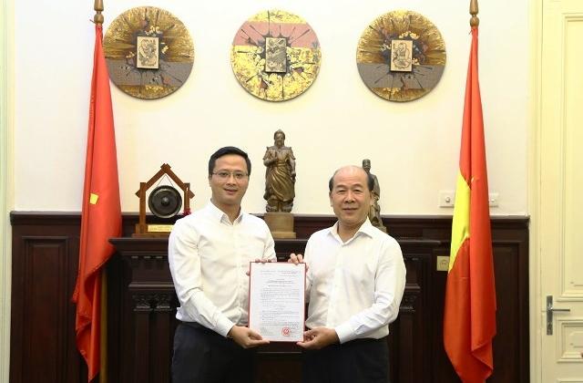 Ông Uông Việt Dũng được bổ nhiệm làm Phó Chánh văn phòng Bộ GTVT