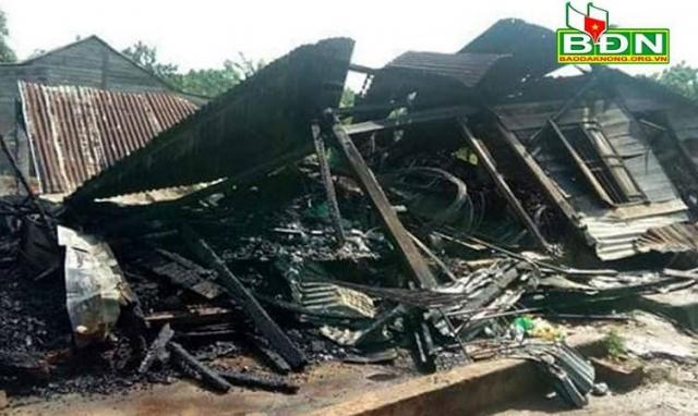Đắk Nông: Nghi vấn nổ bình gas khiến một người phụ nữ bị bỏng nặng