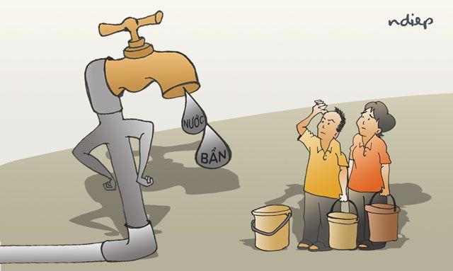 Xin đừng coi nước sạch chỉ là một mặt hàng thương mại!