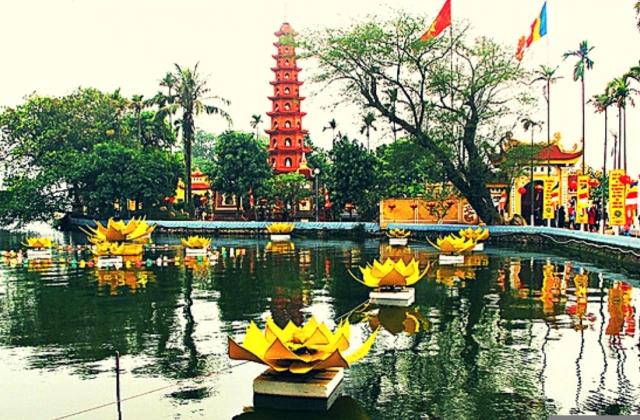 Những địa điểm đi lễ chùa đầu năm ở Hà Nội