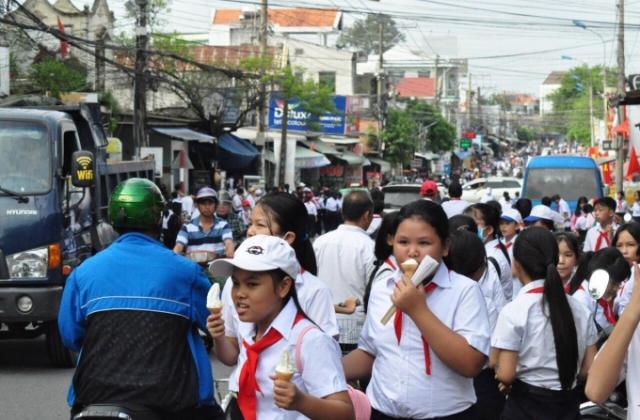 Đồng Nai: học sinh đi học lại sau 2 tuần phòng, chống dịch nCoV