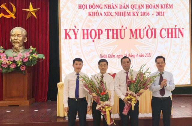 Hà Nội: Bổ nhiệm ông Nguyễn Quốc Hoàn làm Phó Chủ tịch UBND quận Hoàn Kiếm
