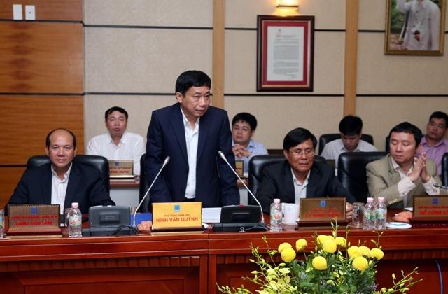 Quan lộ thênh thang của Phó Tổng PVN Ninh Văn Quỳnh
