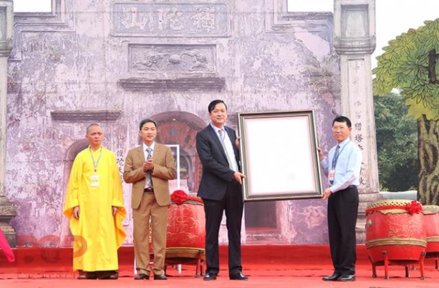 Mộc bản chùa Bổ Đà được công nhận là Bảo vật quốc gia