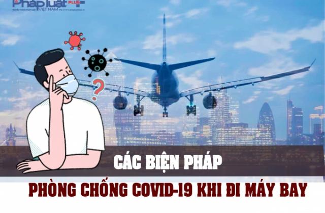 Infographics - Những biện pháp an toàn khi đi máy bay mùa dịch Covid-19