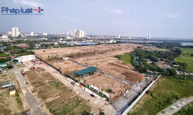 Dự án Louis City Hoàng Mai: Hạ tầng ngổn ngang, khách hàng cẩn trọng lời mời