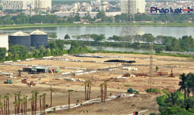 Cận cảnh Dự án Louis City Hoàng Mai chưa xong hạ tầng, người dân cần cẩn trọng giao dịch BĐS