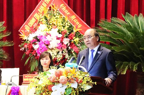 Thủ tướng dự khai mạc Đại hội đại biểu Đảng bộ tỉnh Nghệ An lần thứ XIX