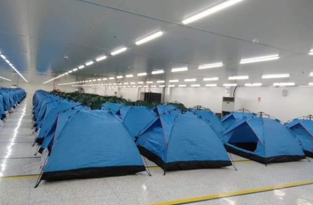 Bắc Ninh: Công nhân ăn, nghỉ tại nơi làm việc để chủ động sản xuất