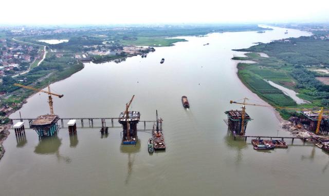 Bắc Ninh kiểm tra toàn diện Dự án cầu Phật Tích – Đại Đồng Thành chậm tiến độ