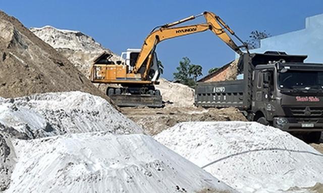 """Tỉnh ủy Bình Thuận yêu cầu kiểm tra việc khai thác khoáng sản """"lậu"""" ở Hàm Tân do Báo PLVN phản ánh"""