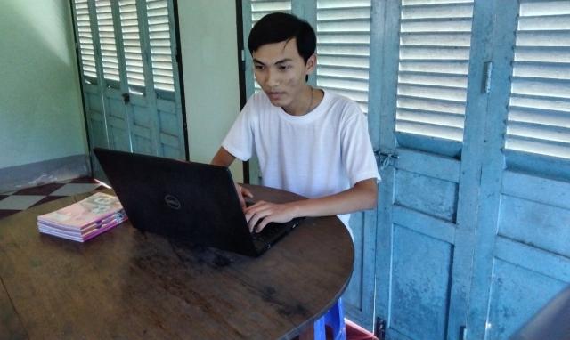 Tâm sự của chàng trai đạt điểm 10 môn Lịch sử ở Vĩnh Long
