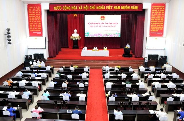 Khai mạc kỳ họp thứ 3 Hội đồng nhân dân tỉnh Bình Thuận khóa XI