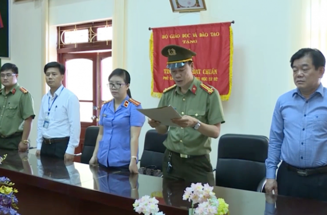 Lời khai bất nhất của Giám đốc Sở GD&ĐT Sơn La trong vụ việc gian lận