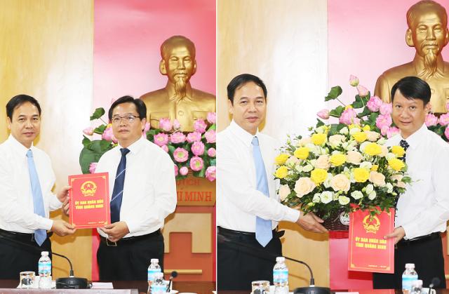 Quảng Ninh có tân GĐ và Phó GĐ sở Tài Chính