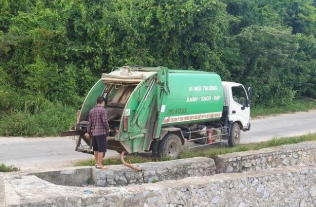 Quảng Ninh: Chủ tịch Thị trấn Cô Tô nói gì về việc Công ty Môi trường xả thải trái phép?