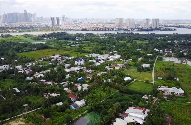 """TP HCM: Sống """"treo"""" theo dự án Khu đô thị sinh thái Bình Quới - Thanh Đa"""