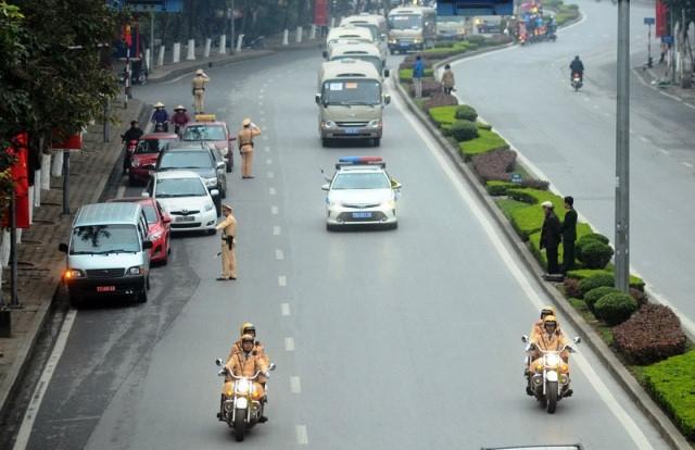 Phân luồng giao thông phục vụ Quốc tang Nguyên Chủ tịch nước Lê Đức Anh