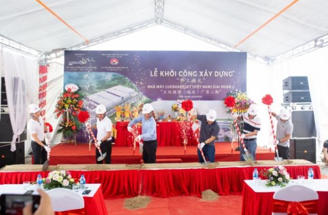 Công ty Luxshase - ICT (Việt Nam) bị xử phạt 350 triệu đồng vì xây dựng sai phép