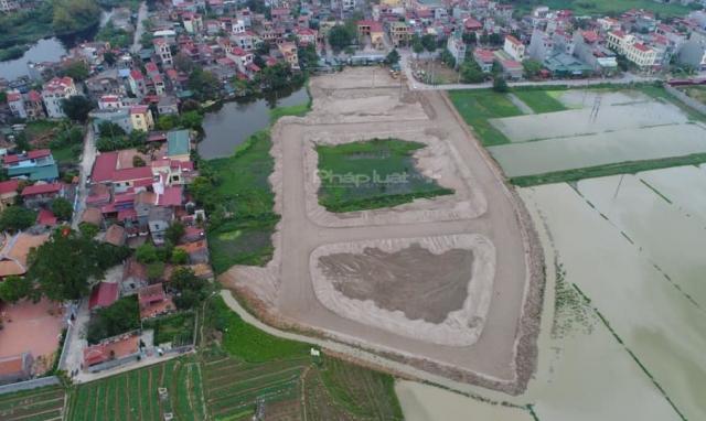Dự án khu nhà ở Vạn An: Chủ đầu tư chỉ được bán đất cho người dân khi xây dựng xong hạ tầng