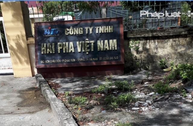 Công ty Hai Pha Việt Nam bị xử phạt vì khởi công thiếu bản vẽ