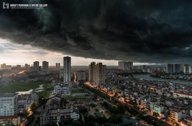Cơn bão số 1 có thể khiến Bắc Bộ, Bắc Trung Bộ xuất hiện giông lốc, gió giật mạnh