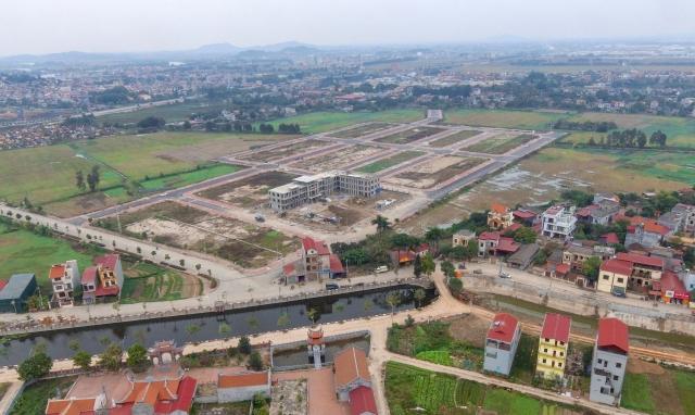 Công ty phát triển hạ tầng MB trúng đấu giá gần 37.000m2 đất ở tại Yên Phong