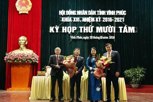 Phê chuẩn nhân sự 3 tỉnh Vĩnh Phúc, Kon Tum, Sơn La