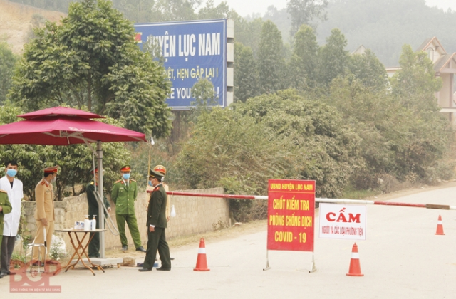 Bắc Giang: Dỡ bỏ vùng cách ly y tế Covid-19 tại xã Cẩm Lý, huyện Lục Nam