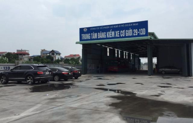 """Nhiều trung tâm đăng kiểm ở Hà Nội """"bỏ qua"""" công đoạn khi kiểm tra phương tiện"""