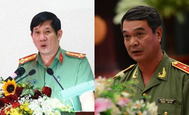 Kỷ luật hàng loạt lãnh đao và nguyên lãnh đạo Công an tỉnh Đồng Nai