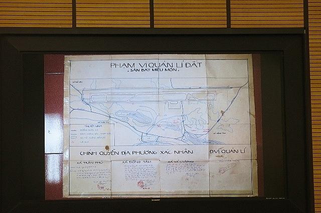 Thông tin về các kết luận thanh tra việc sử dụng đất khu sân bay Miếu Môn